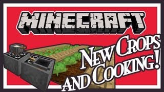 New Fish, Farming and Cooking Features in Minecraft! - FishAndFarm Mod Showcase