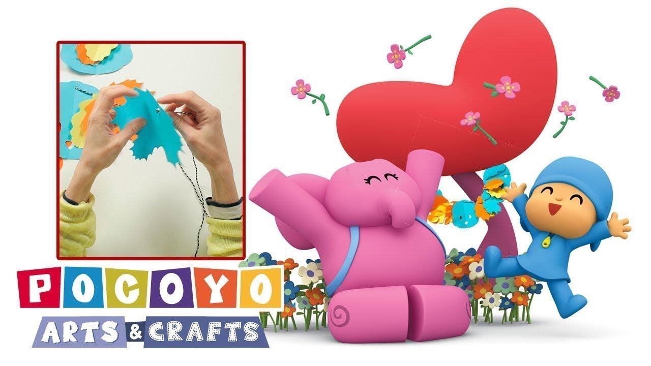 Pocoyo Arts & Crafts: Guirnalda de primavera