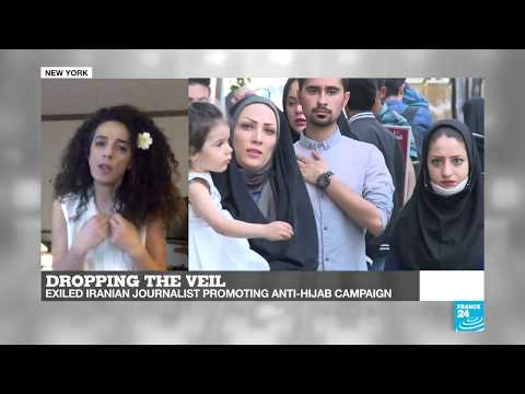 Dropping the veil: Exiled Iranian journalist promoting anti-hijab campaign