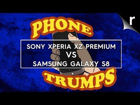 Xperia XZ Premium vs Galaxy S8: Phone Trumps Episode 14