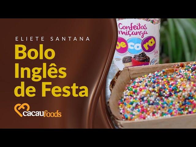 Bolo Inglês de Festa | Cacau Foods