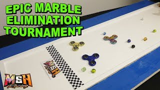 After a long absence we are bringing back marble elimination race t...