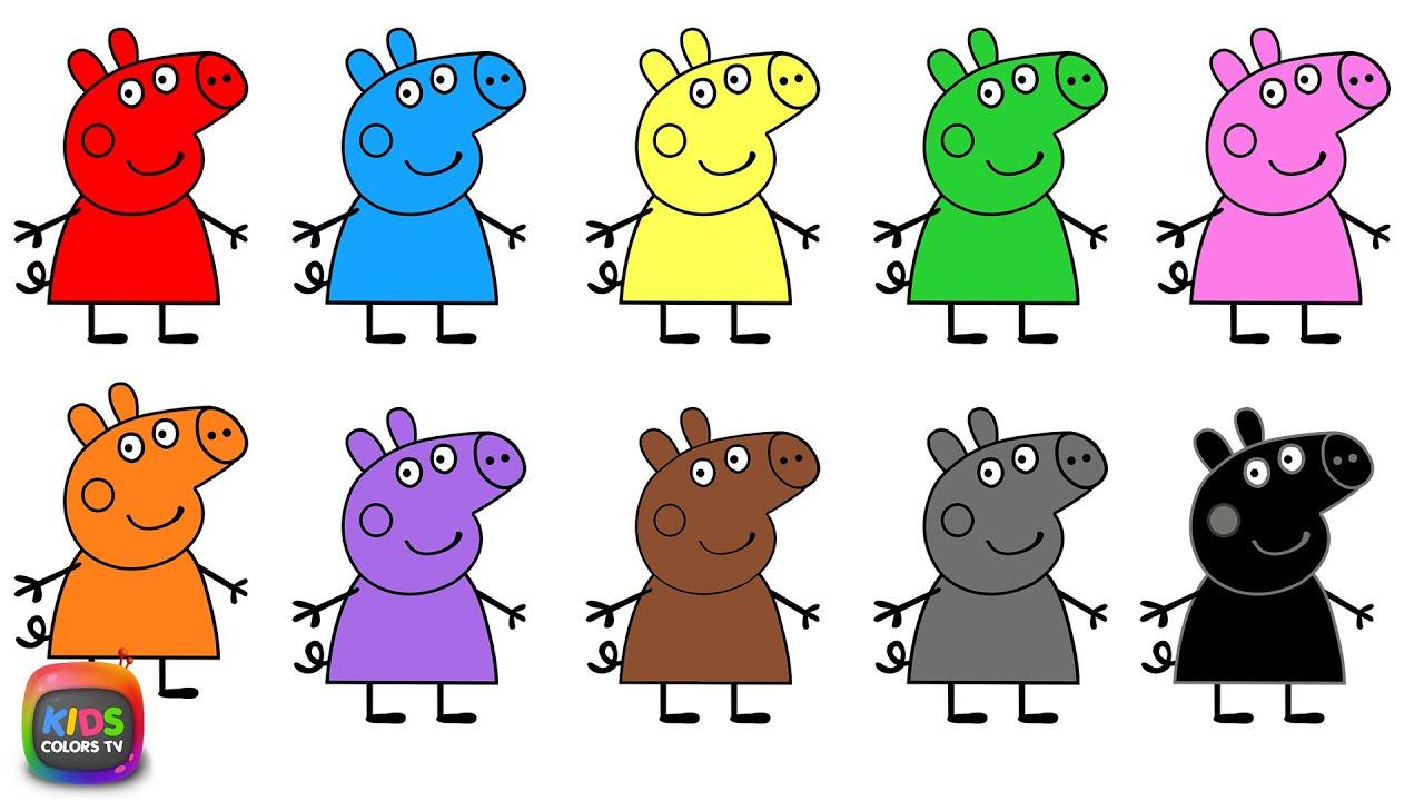Colors preschool songs - Learn Colors Teach Colours Baby Toddler Preschool Nursery Rhymes Youtube