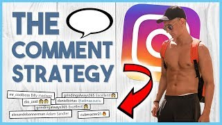 😍 The Comment Strategy - Get 100 followers a day with THIS Instagram Growth Strategy 😍