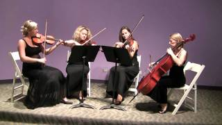 European String Quartet  - J.S. Bach- Air on G