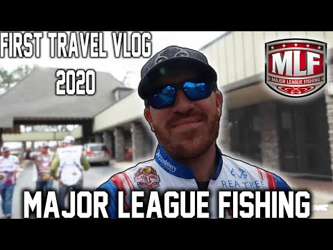 Major League Fishing Pro Tour Travel VLOG - 2020 Lake Eufaula
