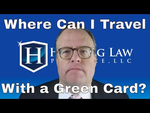 Where Can I Travel With A Green Card?