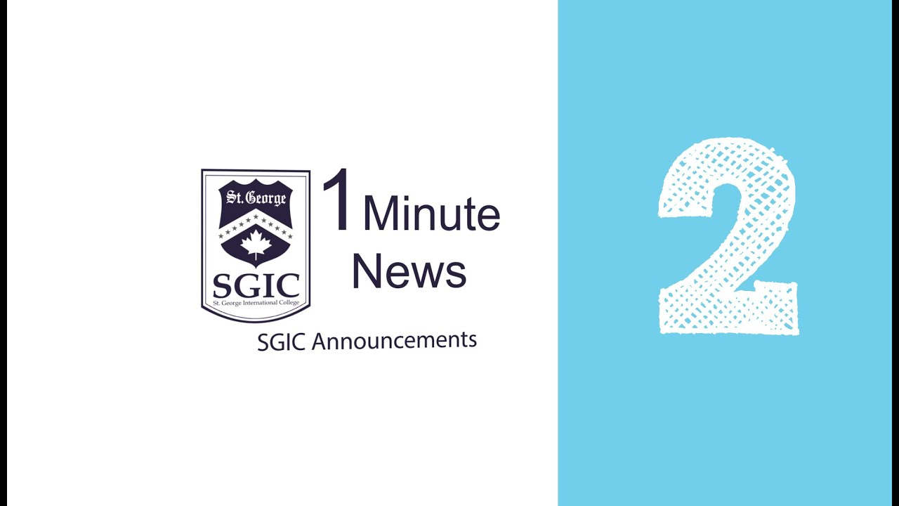 SGIC One Minute News 2(Vancouver)