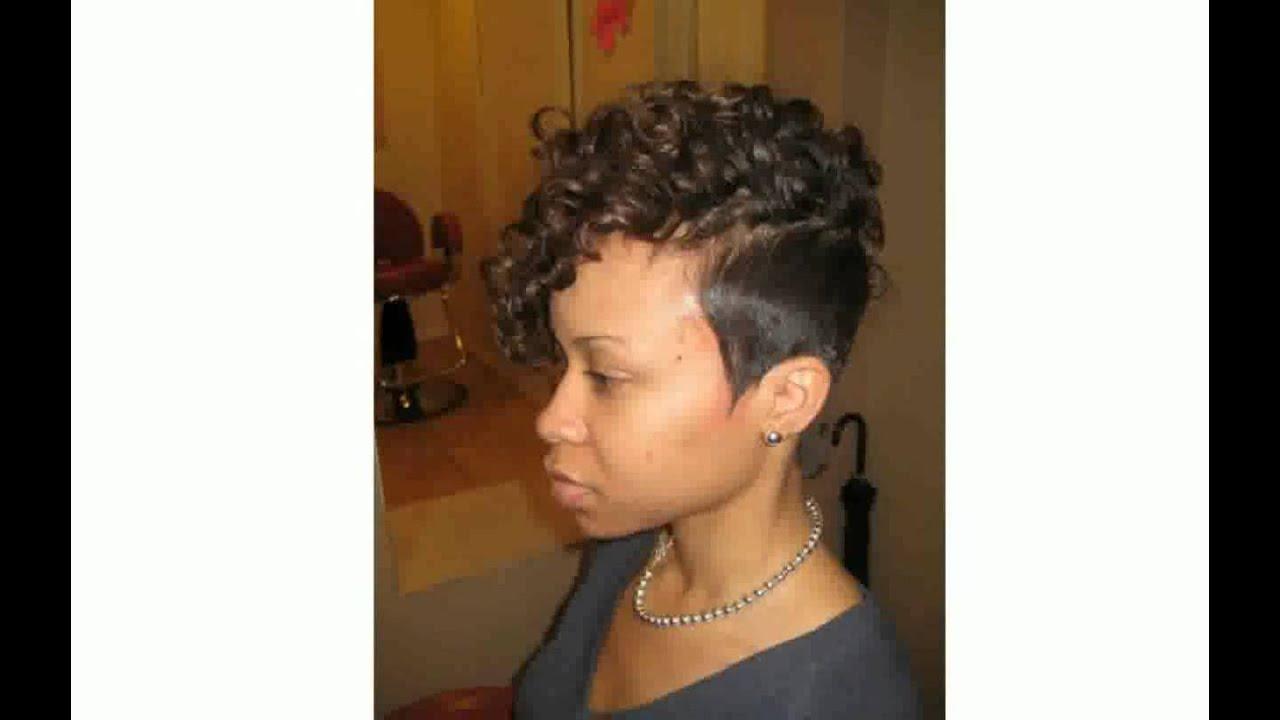 black short weave hairstyles