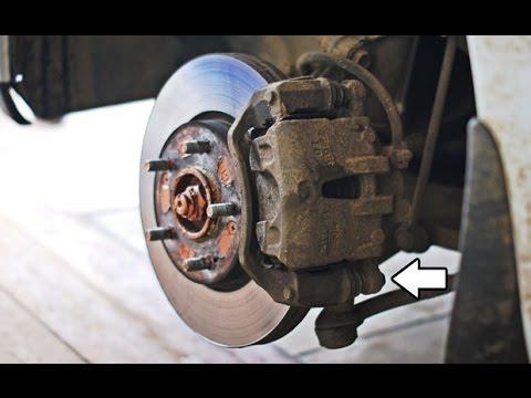 замена передних тормозных колодок на киа сид