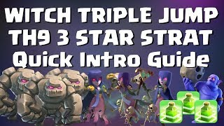 Clash of Clans: WITCH TRIPLE JUMP, NEW POWER COMBO! INTRO GUIDE | Mister Clash