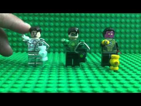 Green Lantern Ring Lego custom green lant...