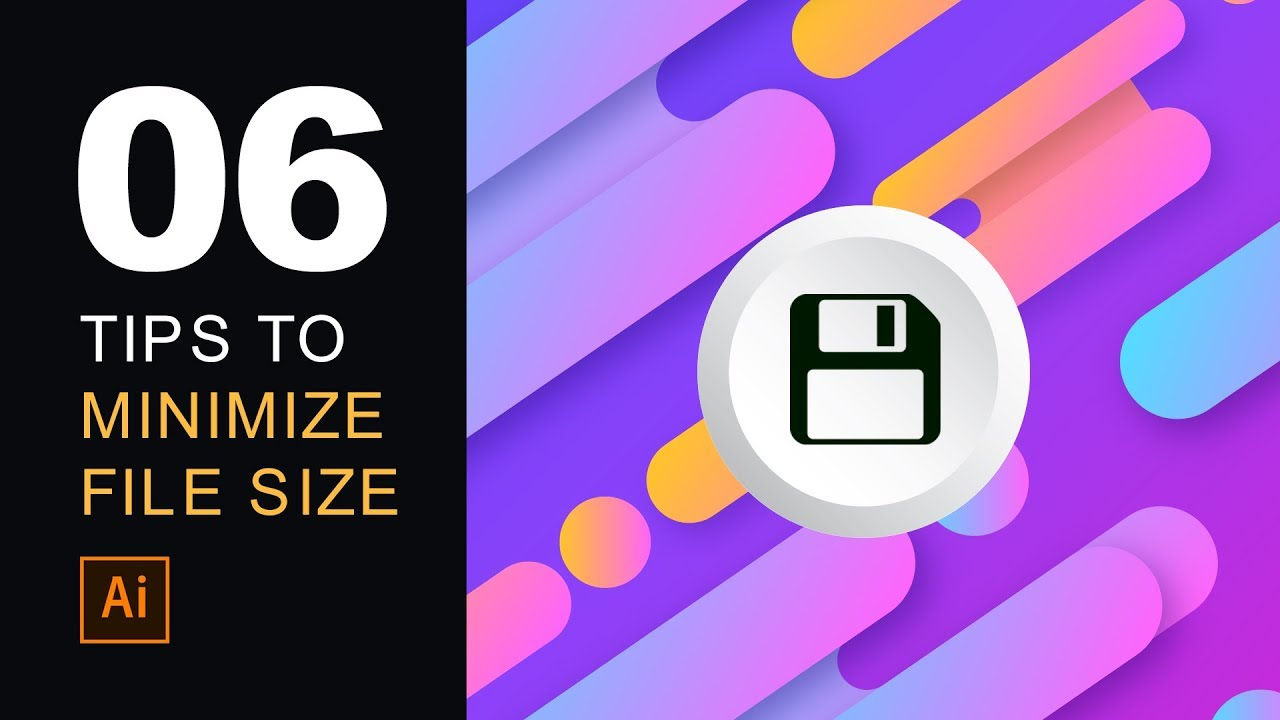 HOW TO REDUCE FILE SIZE IN ILLUSTRATOR ((SOLVED))