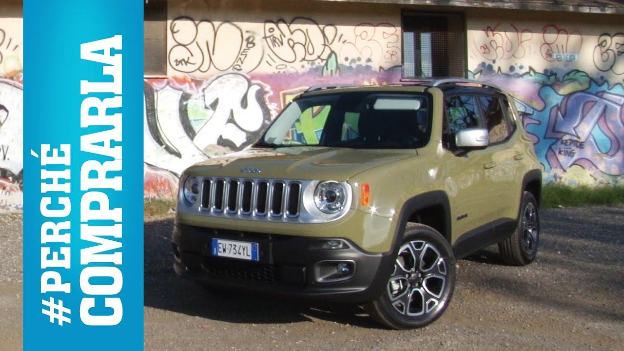 Fiat 500X Crossover >> Jeep Renegade (2014) | Perché comprarla e... perché no - YouTube