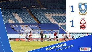 Sheffield Wednesday 1 Nottingham Forest 1 | Extended highlights | 2019/20