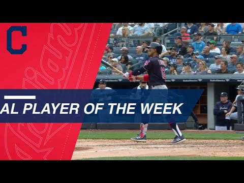 Francisco Lindor named AL Player of the Week