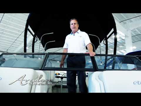2018 Pontoon Boat MID-LEVEL WINDSHIELDS | Avalon LSZ Elite Windshield | Affordable Luxury Pontoons