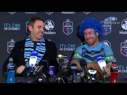 State of Origin: NSW Press Conference - Game II