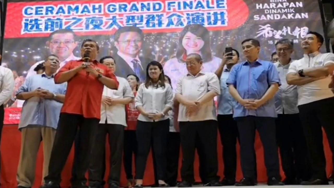 Mat Sabu Ceramah Grand Finale Prk Sandakan Youtube