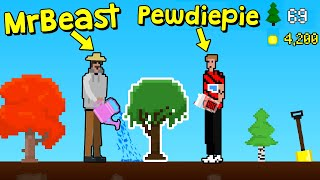 I Made a Game About MrBeast Planting Trees!