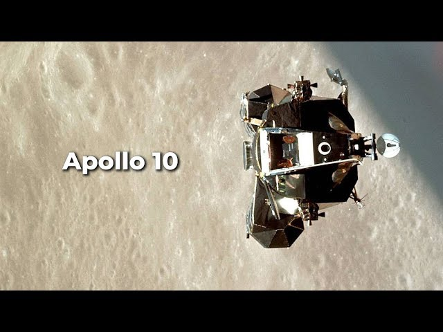 Apollo 10: 'Tell the world, we have arrived'