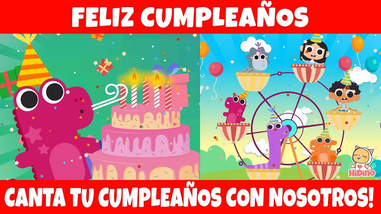 Feliz Cumpleaños A Ti Hidino Canciones Para Niños Youtube