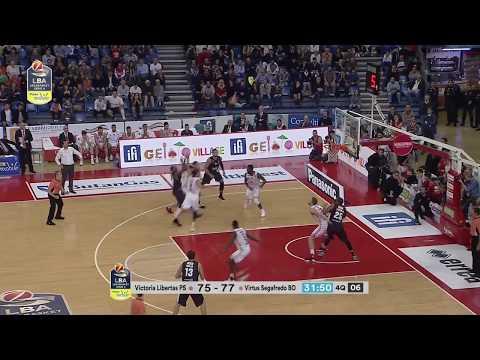 HIGHLIGHTS / VL Pesaro - Segafredo Virtus Bologna 75-81
