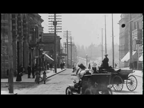[10 Hour Docu] Vancouver, Canada 1907 STABILIZED - Video & Audio [1080HD] SlowTV