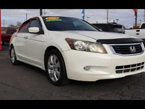 2009 Honda Accord EX-L V6 for sale in TULSA, OK