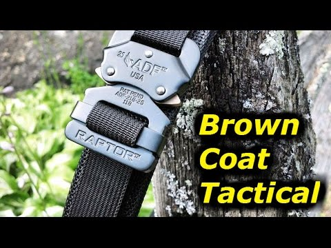 Brown Coat Tactical EDC Belt: Introduction & First Impressions ...