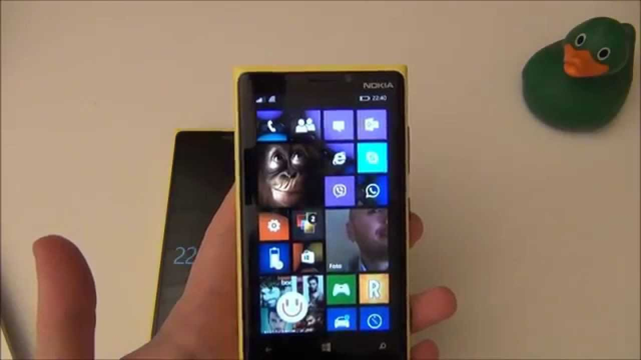 Windows Phone 8.1 (Preview) su Nokia Lumia 920 [ITA]