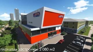 Видео презентация спортивно-оздоровительного комплекса Sport Life г.Полтава(Проект предусматривает реконструкцию здания столовой с трансформаторной подстанцией под спортивно-оздор..., 2015-12-04T10:51:51.000Z)