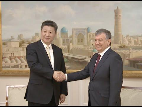Chinese President Starts Uzbekistan Visit in Historical City Bukhara