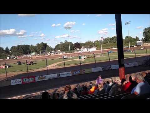 Plymouth Dirt Track B Mod Heat Races 6 24 2017