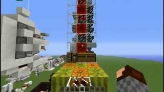 Usine à melons/pastèques automatique et peu couteuse - Minecraft