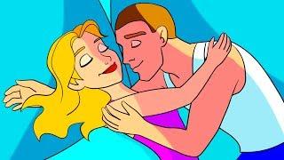 10 Posiciones para dormir en pareja y su verdadero significado