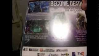 Darksiders II Limited Edition Unboxing