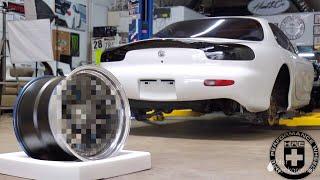 Custom Wheel Reveal for the BRZ!