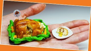 Mini thanksgiving Turkey Cake / Miniature cooking / Mini Food / Jenny's mini cooking/ 食べれるミニチュア