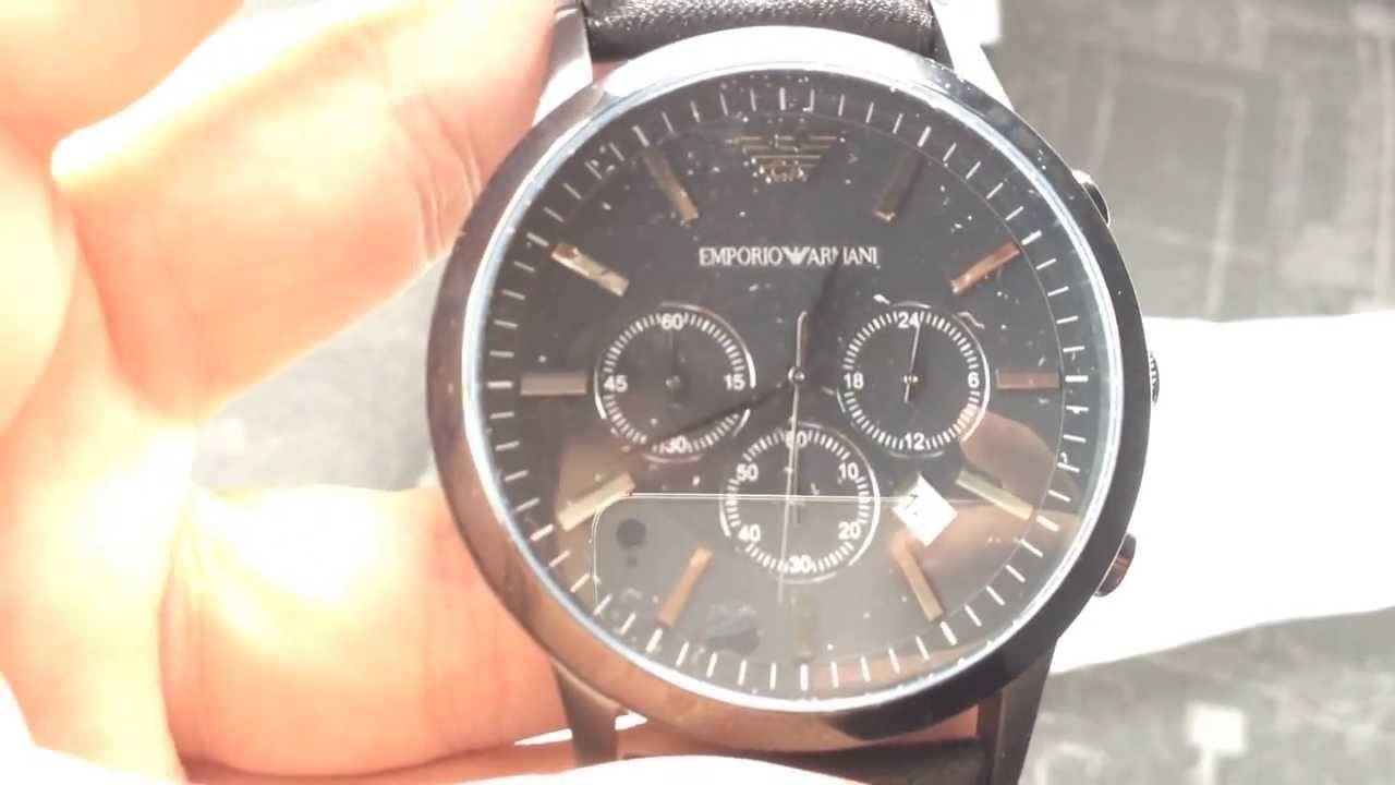 49a319dd3 Unboxing - Relógio Emporio Armani AR2461 ( LOJA CN IMPORTS ) (  www.lojacnimports.com.br ) - YouTube