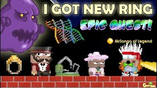 MY NEW RINGS FOR SPONSOR(EPIC QUEST) ITEM!! OMG!! | GrowTopia