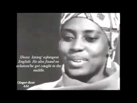 Miriam Makeba 'Baxabene Oxamu' w/Xhosa & English lyrics (Revised Edition)