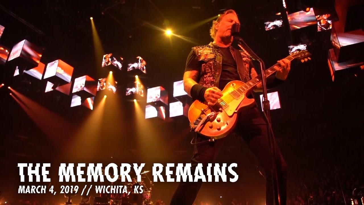 Metallica The Memory Remains Wichita Ks March 4 2019 Youtube
