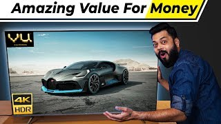 "The Best 4K TV Money Can Buy ⚡⚡⚡ Vu 4K 55"" Premium TV Unboxing & First Impressions!!"