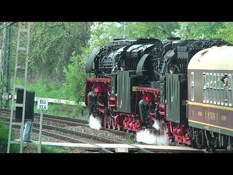 Dresden to Decin Steam run you tube edit