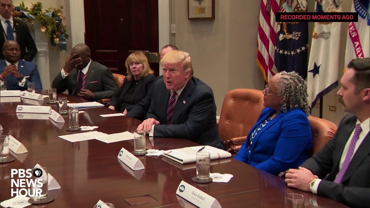 WATCH LIVE: Trump hosts business roundtable at the White House