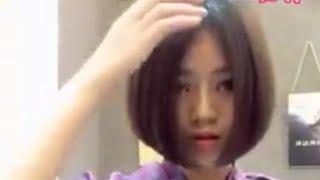 Tuyệt chiêu không cần cắt tóc mà vẫn để tóc ngắn dù tóc bạn có dài đến đâu...