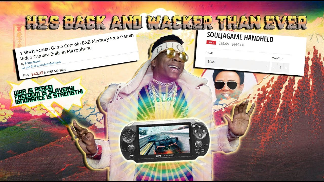 Download Soulja Boy Is BACK & Wacker Than Ever! With his new PSP console clone