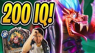 200 IQ Hakkar PLAY WINS ME the GAME! | Hakkar Togwaggle Druid | Rastakhan's Rumble | Hearthstone