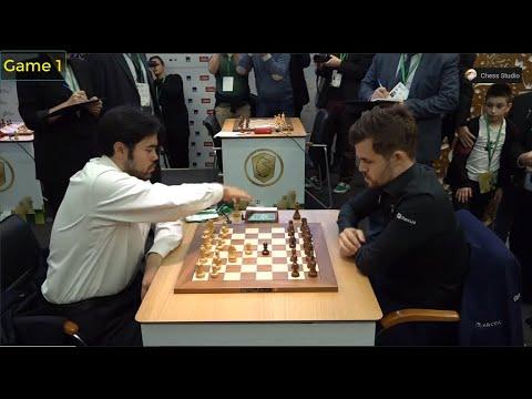 MATCH OF THE YEAR!!! Magnus Carlsen Vs Hikaru Nakamura | Finals World Blitz Chess Championship 2019